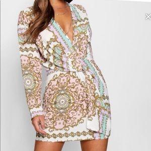 Pink Chain Dress
